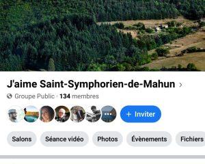 Groupe «J'aime Saint-Symphorien-de-Mahun»
